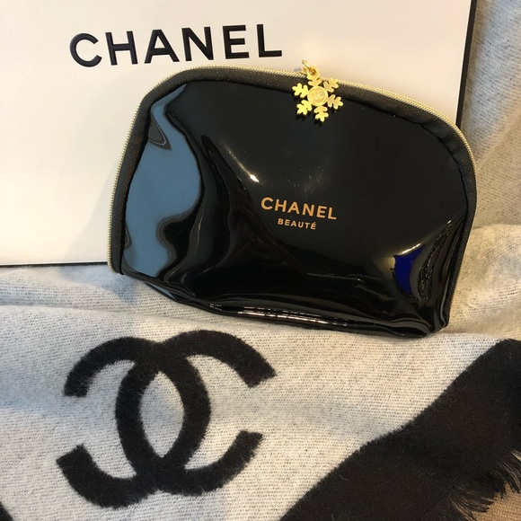32818af1599e CHANEL Bags | Authentic Beaute Snowflake Makeup Bag Small | Poshmark